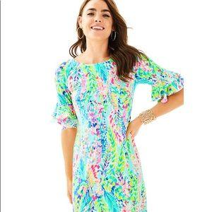 NWT Lilly Pulitzer Lula Dress sz XS Catch the Wave